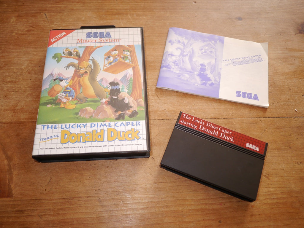 The Lucky Dime Caper starring Donald Duck (Master System)