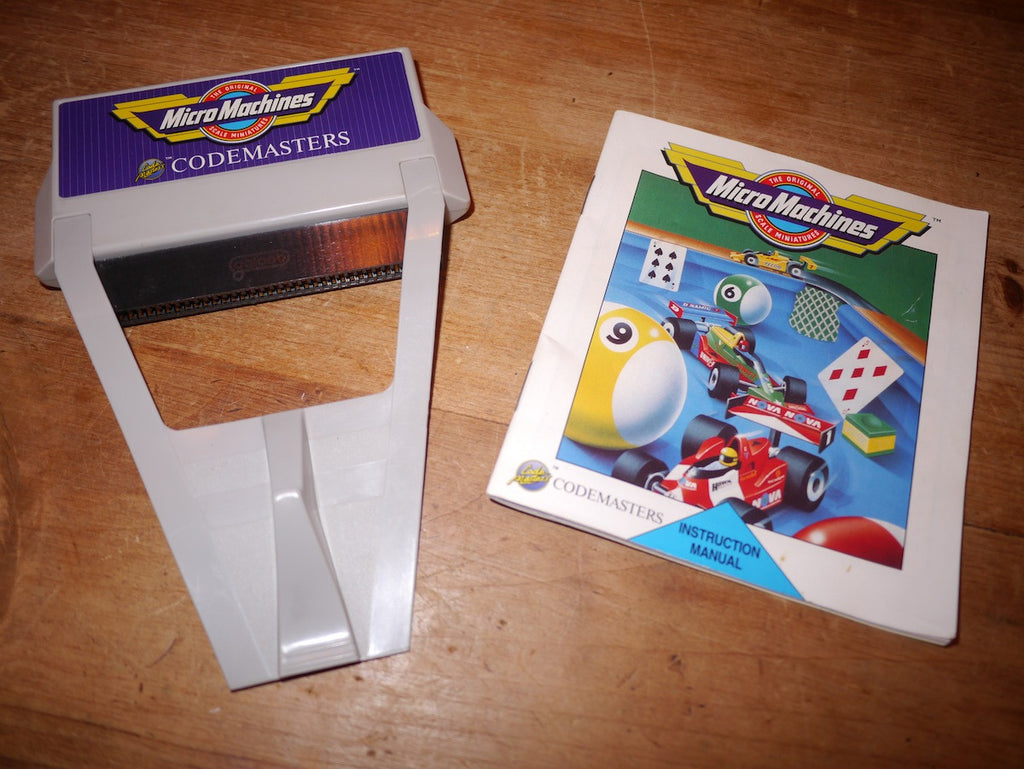 Micro Machines (Plug Thru) (NES)