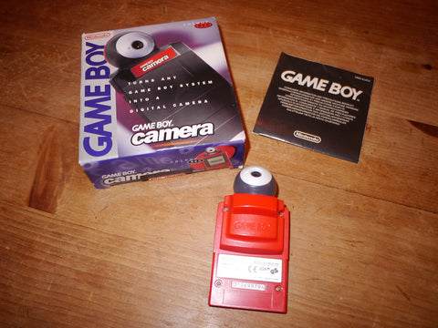 Nintendo Game Boy Camera (Red)