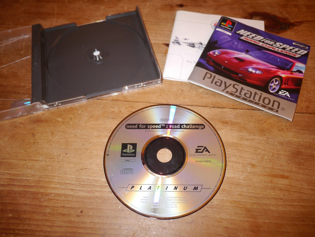 Need for Speed: Road Challenge Platinum (Playstation)