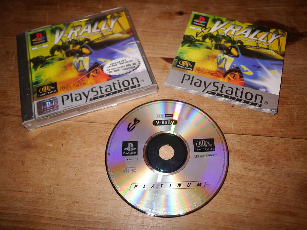 V-Rally: Championship Edition Platinum (Playstation)