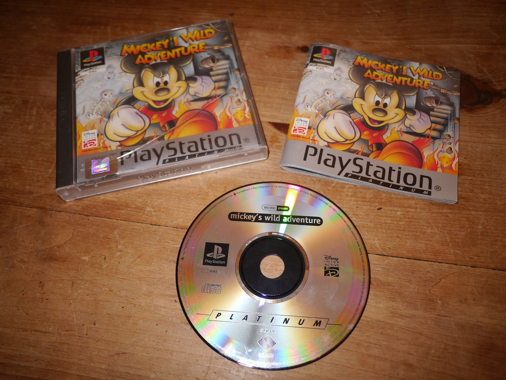 Mickey's Wild Adventure Platinum (Playstation)