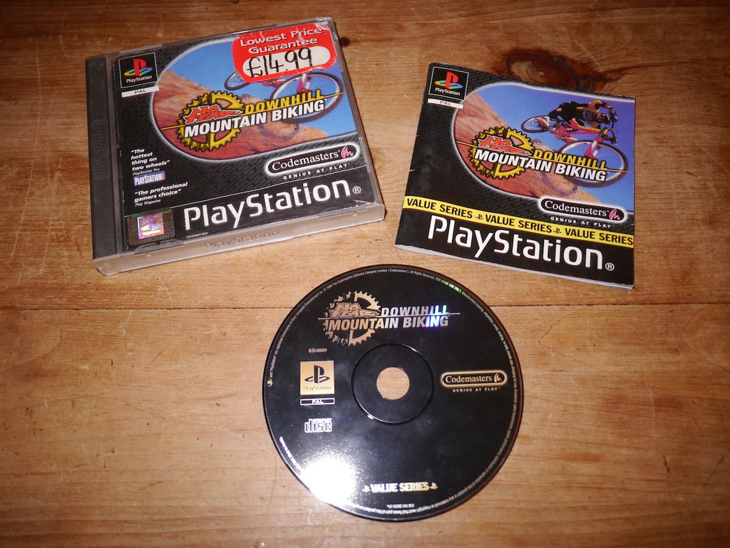 No Fear Downhill Mountain Biking (Playstation)
