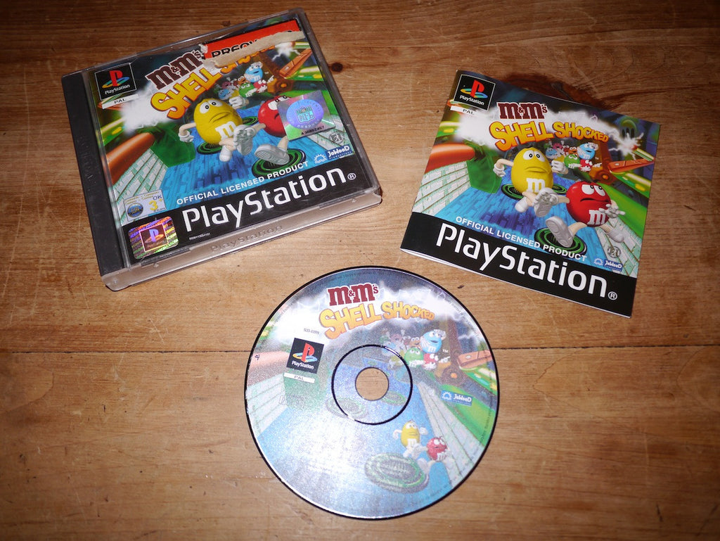 M&M's Shell Shocked (Playstation)