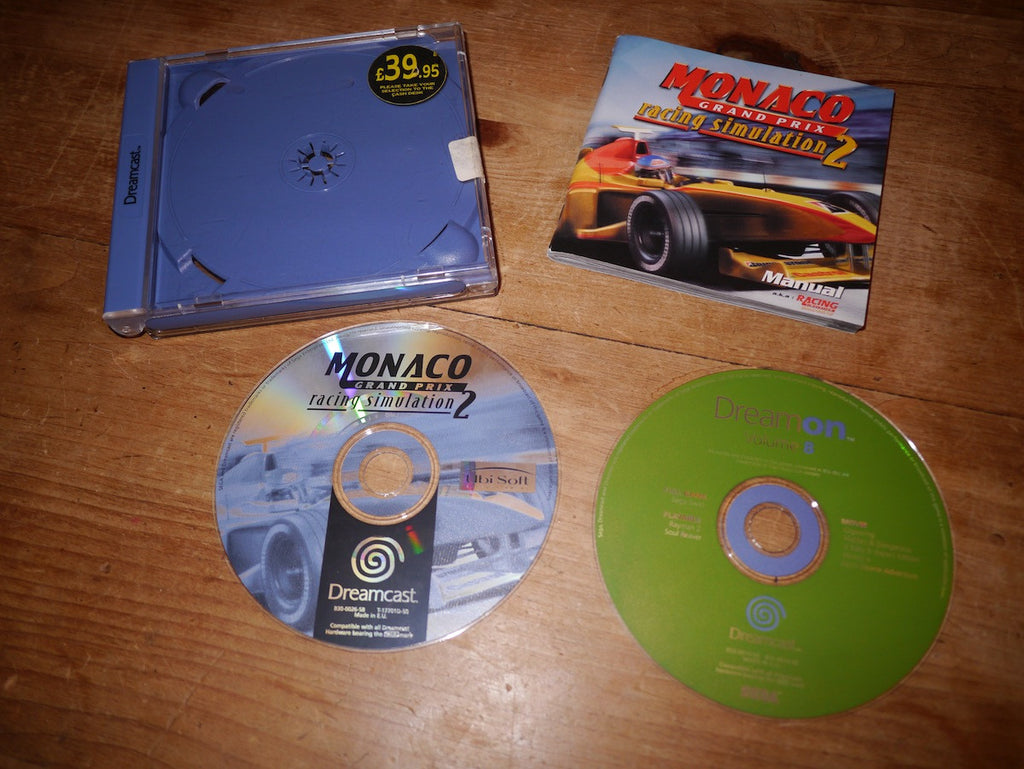 Monaco Grand Prix Racing Simulation 2 (Dreamcast)