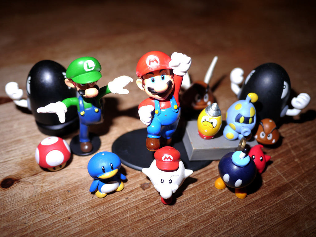 Super Mario Bros - Miniature Action Figures