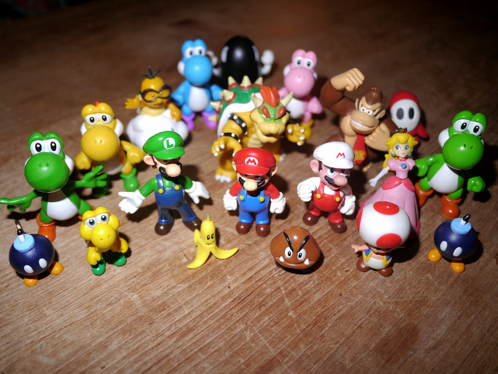 Super Mario Bros - Small Action Figures
