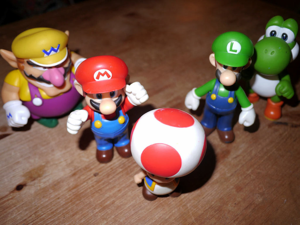 Super Mario Bros - Large Figures