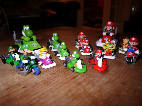 Mario Kart - Toy Cars - Various Sizes
