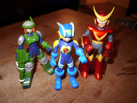 Megaman NT Warrior Action Figures