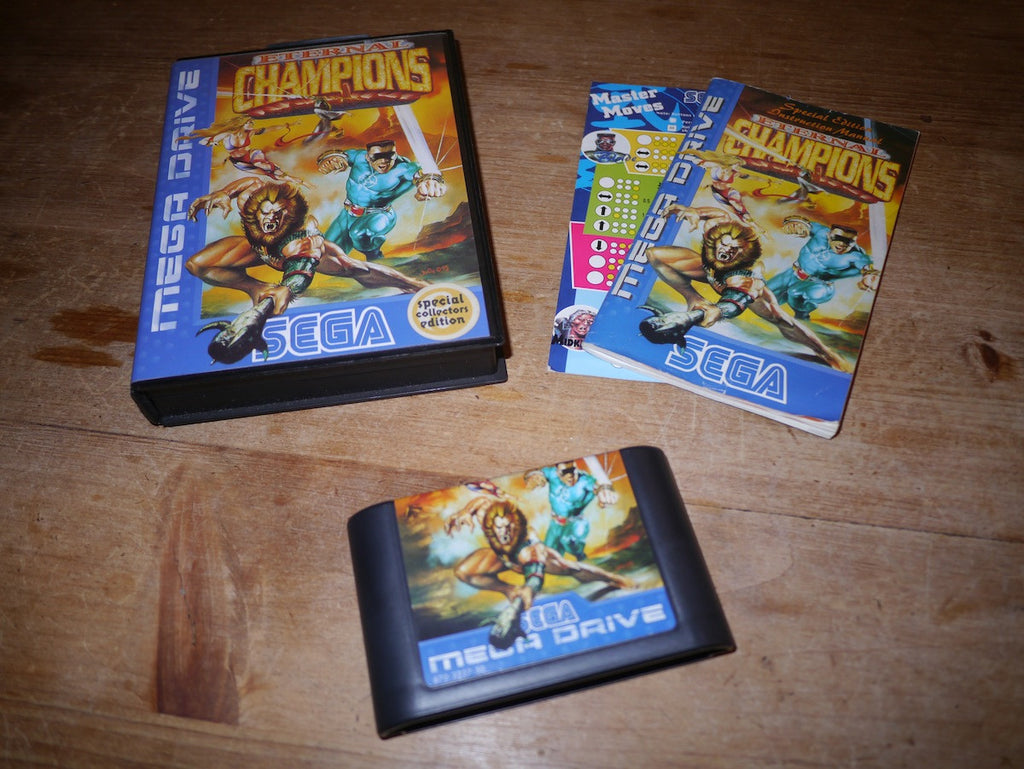 Eternal Champions Special Collectors Edition (Mega Drive)