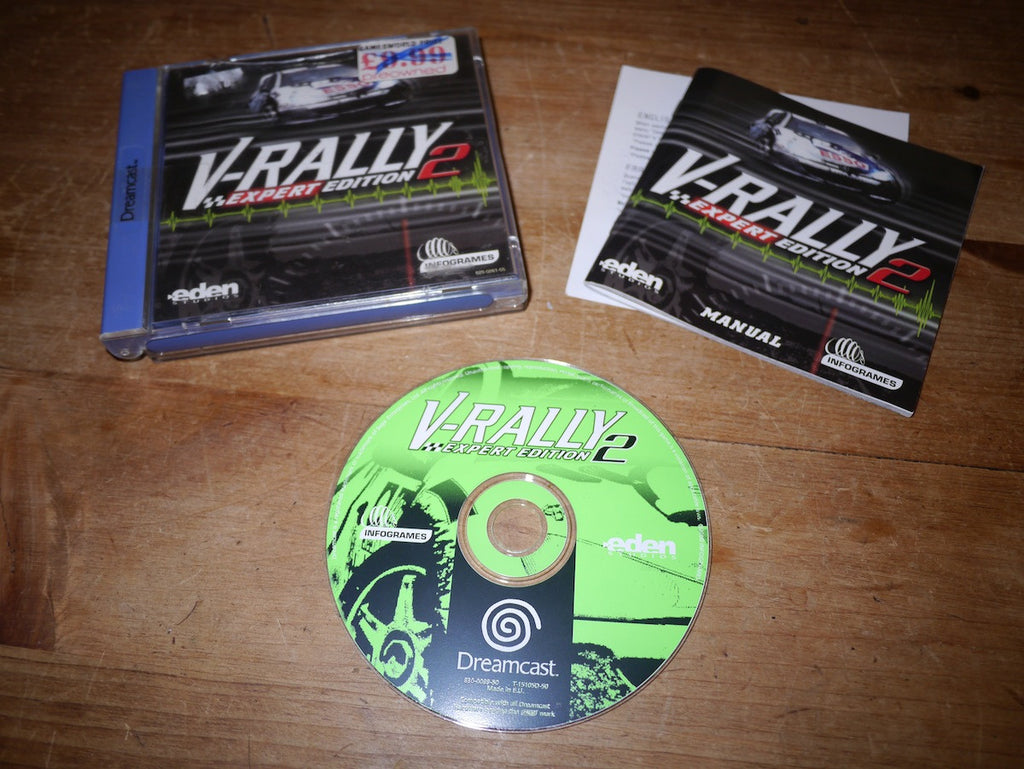 V-Rally 2: Expert Edition (Dreamcast)