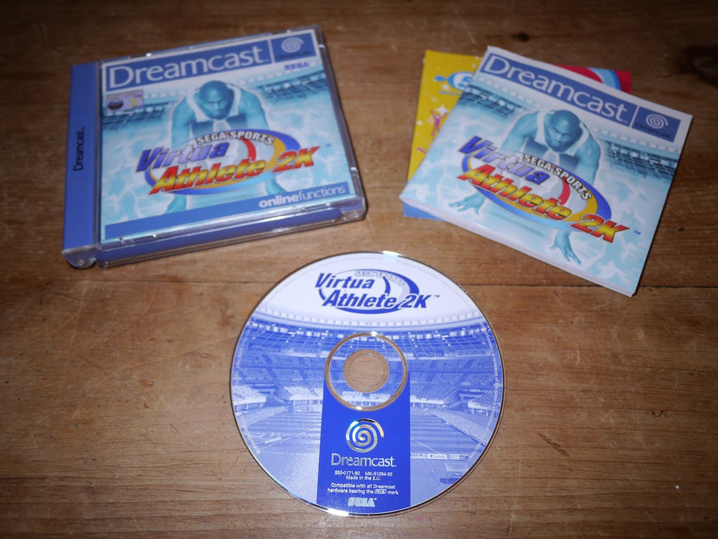 Virtua Athlete 2K (Dreamcast)