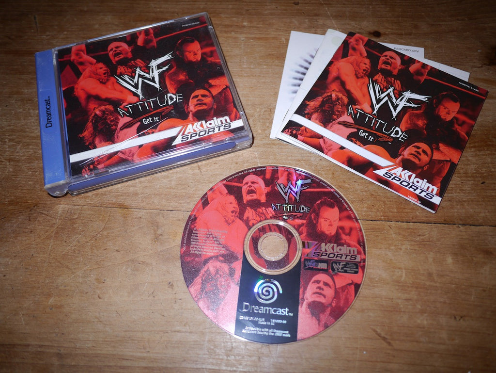 WWE Attitude: Get It! (Dreamcast)
