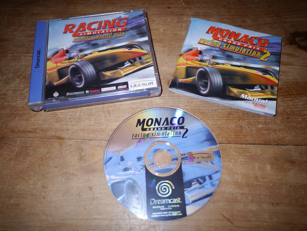 Racing Simulation 2: Monaco Grand Prix (Dreamcast)