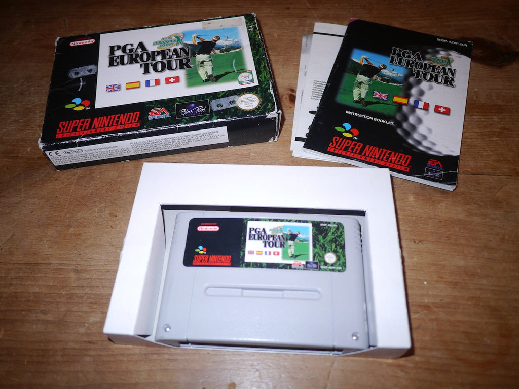 PGA European Tour (SNES)