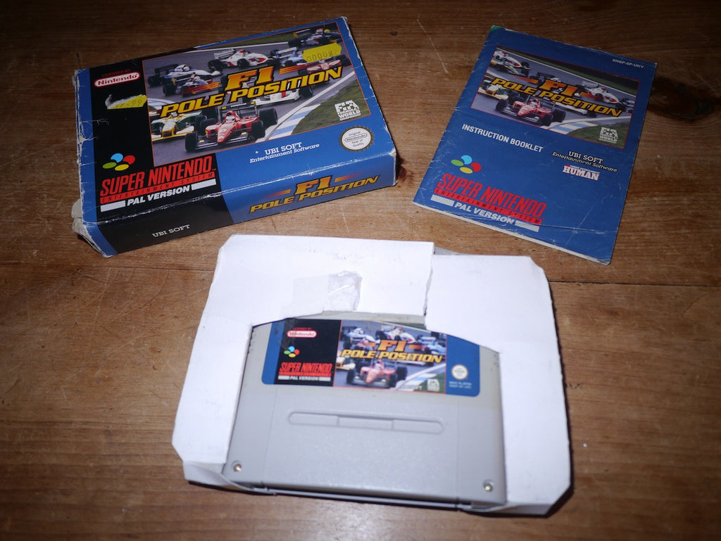 F1 Pole Position (SNES)