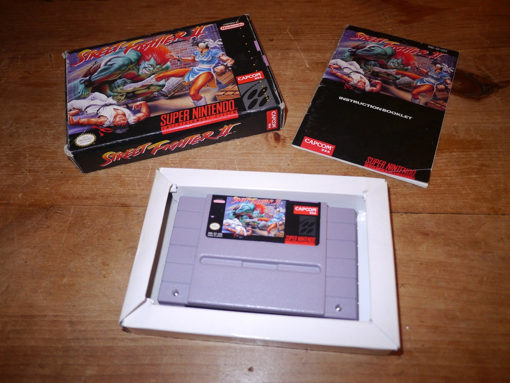 Street Fighter II (2) (SNES)