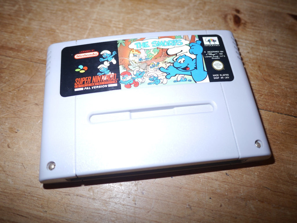 The Smurfs (SNES)