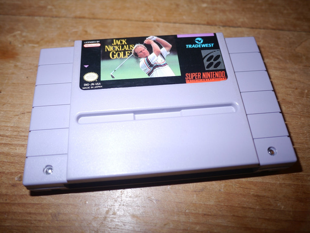 Jack Nicklaus Golf (NTSC SNES)