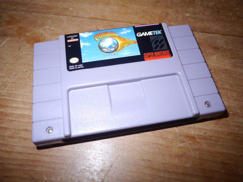 Pinball Dreams (NTSC SNES)