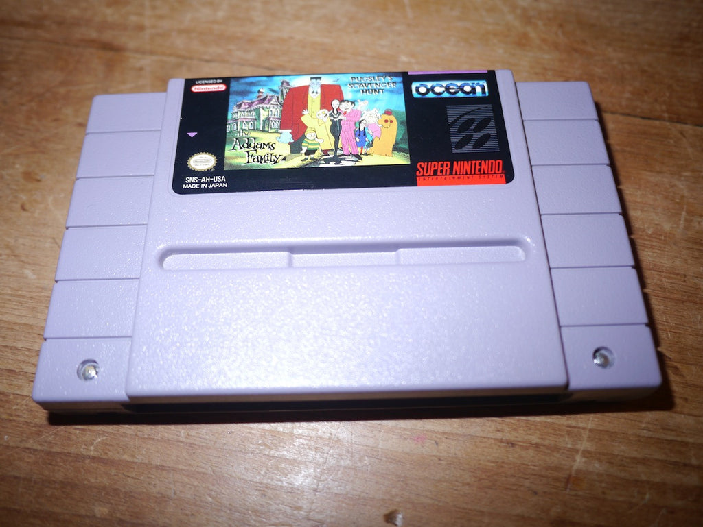 The Addams Family: Pugsley's Scavenger Hunt (NTSC SNES)