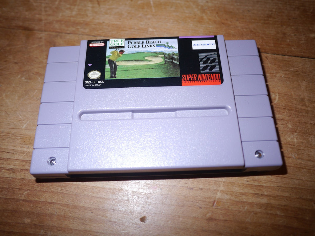 True Golf Classics: Pebble Beach Golf Links (NTSC SNES)