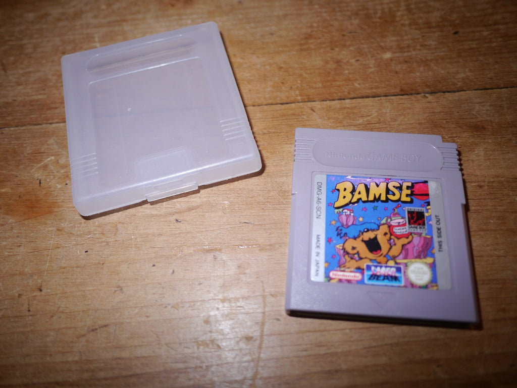 Bamse (Game Boy) Super rare!