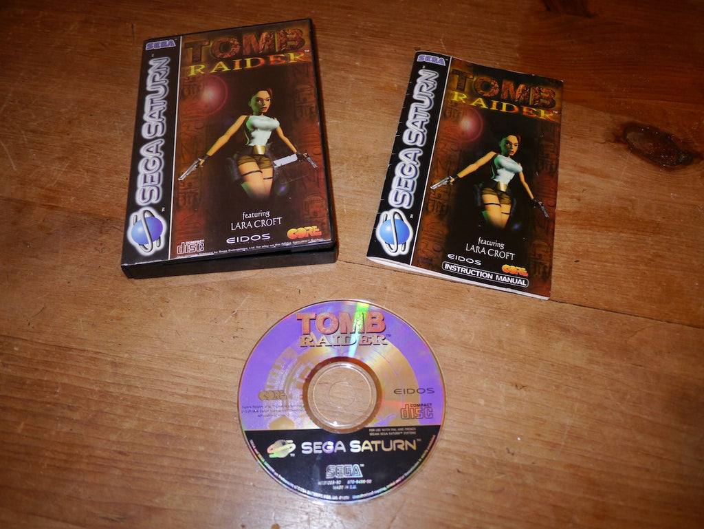 Tomb Raider (Saturn)