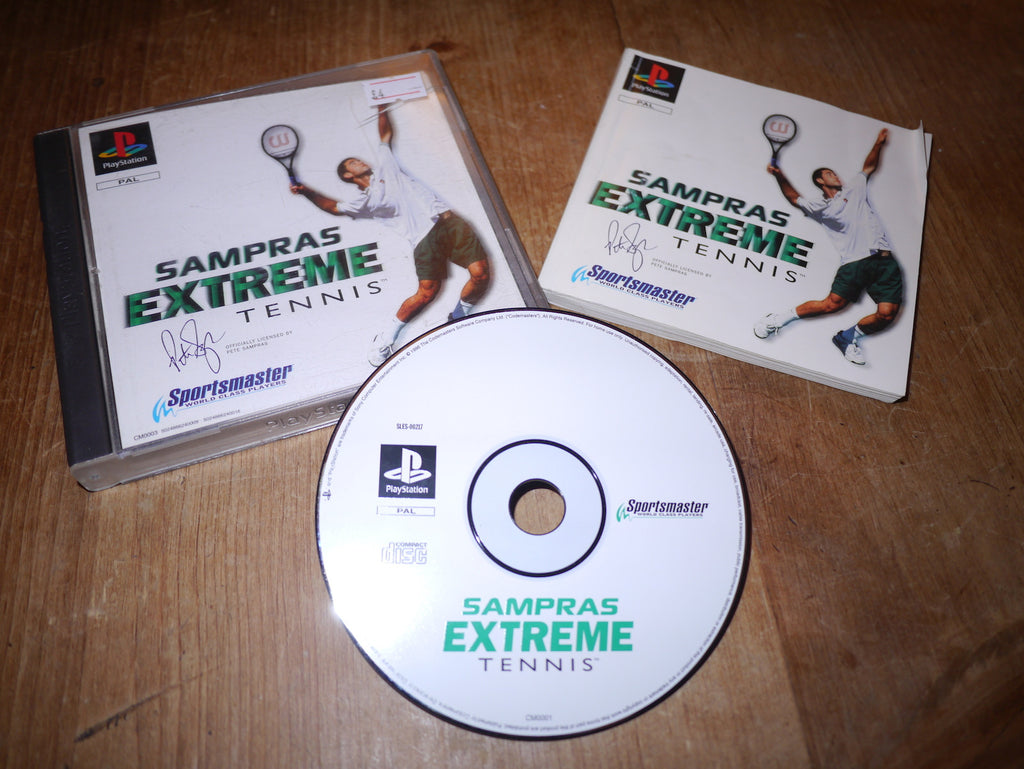 Sampras Extreme Tennis (Playstation)