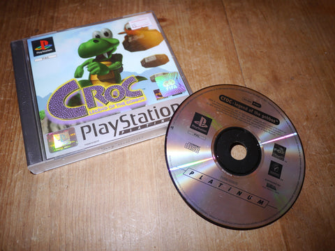 Croc: Legend of the Gobbos Platinum (Playstation)