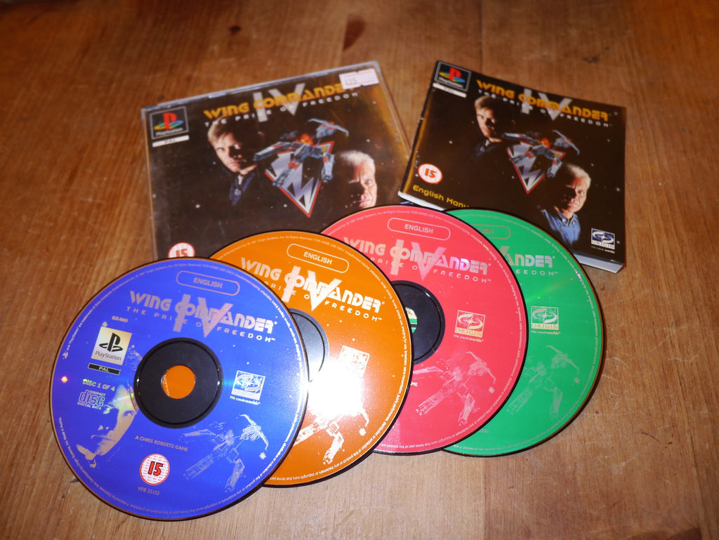 Wing Commander IV (4): The Price of Freedom (Playstation)