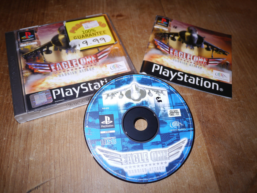Eagle One: Harrier Attack (Playstation)
