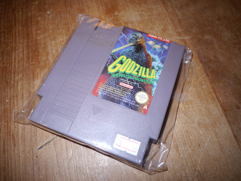 Godzilla: Monster of Monsters (NES)