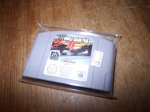 F-1 World Grand Prix II (2) (N64)