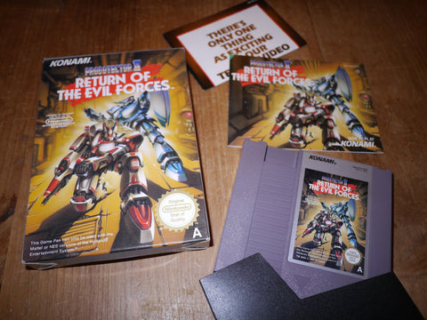 Probotector II (2): Return of the Evil Forces (NES)