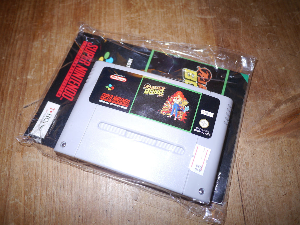 James Bond Jr. (SNES)