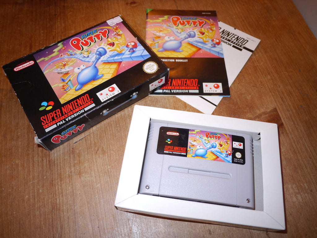 Super Putty (SNES)