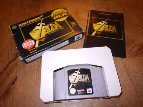 The Legend of Zelda: Ocarina of Time (N64)