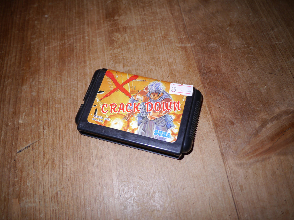 Crack Down (Japanese Mega Drive)