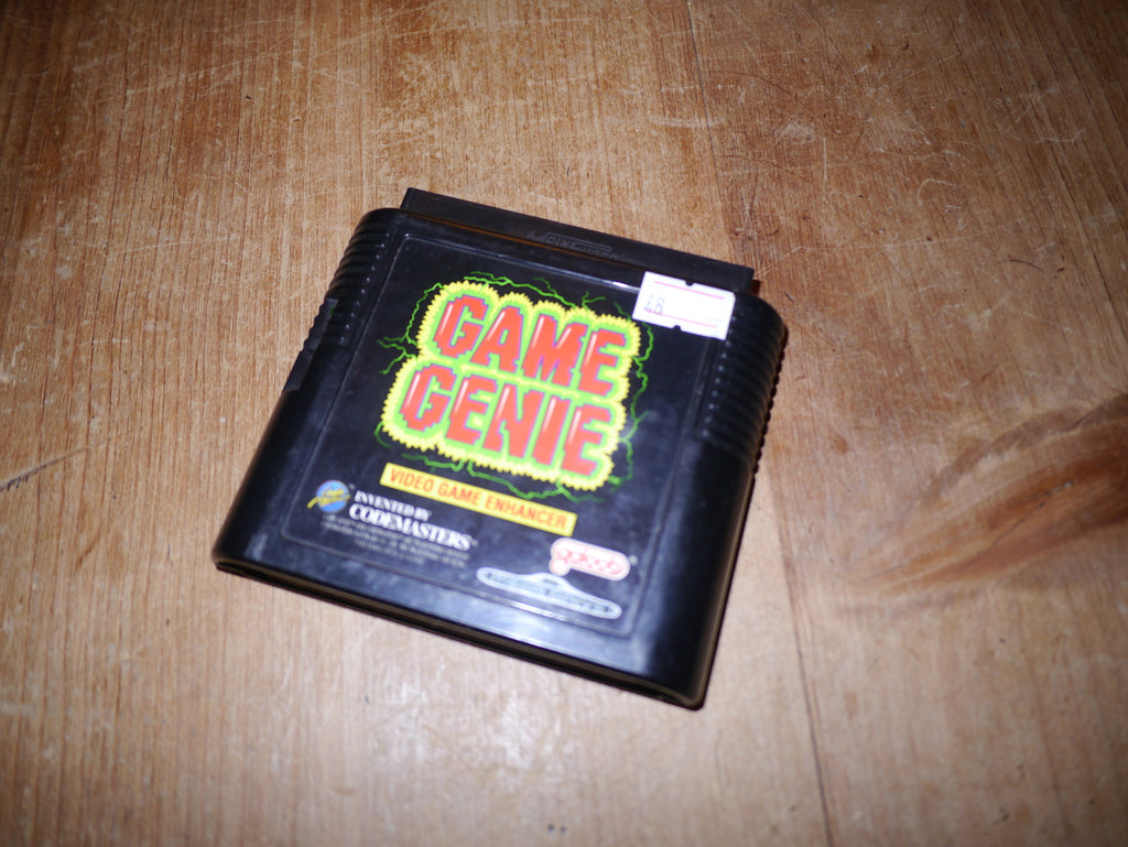 Game Genie Video Game Enhancer (Mega Drive)