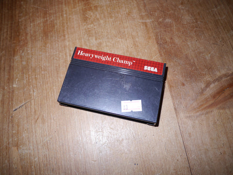Heavyweight Champ (Master System)