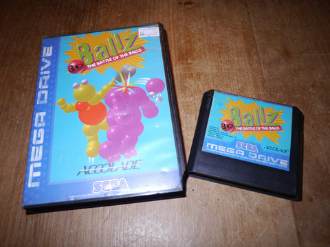 Ballz: The Battle of the Balls (Mega Drive)