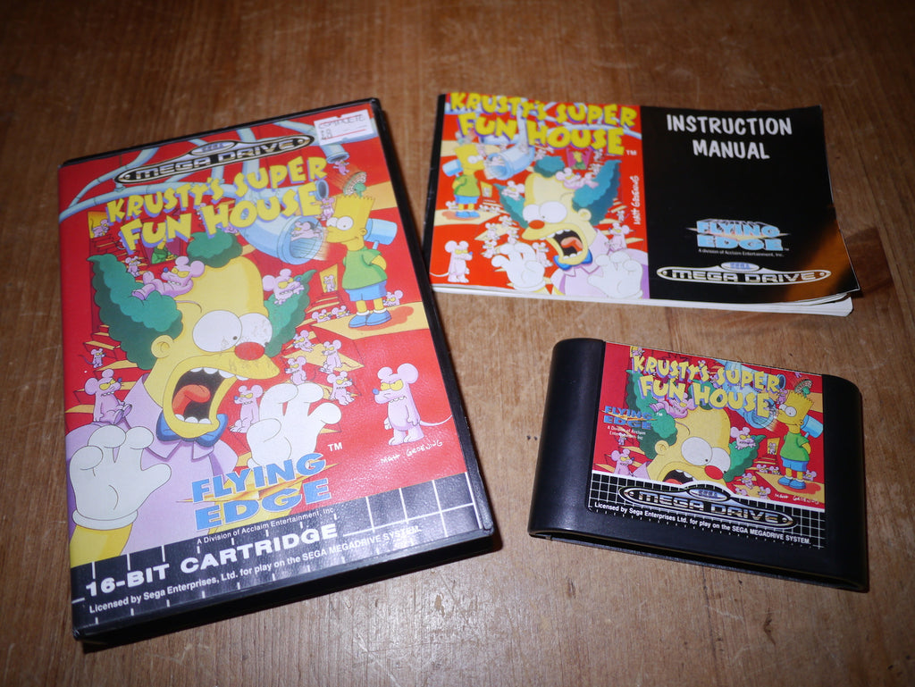 Krusty's Super Fun House (Mega Drive)