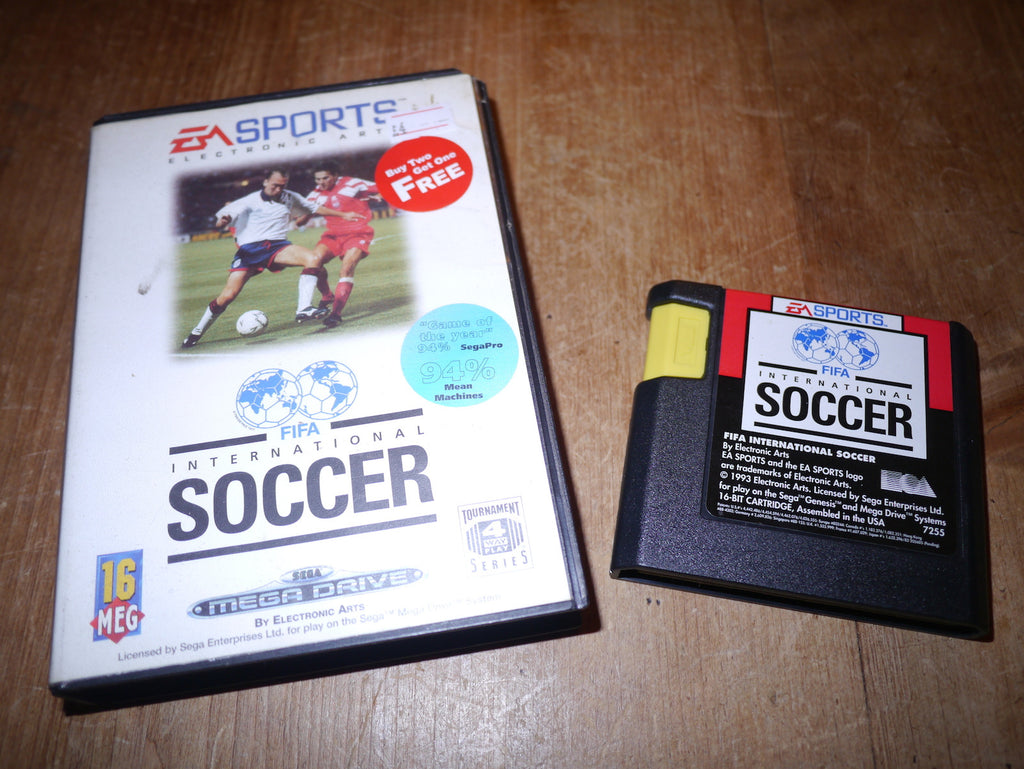 FIFA International Soccer (Mega Drive)