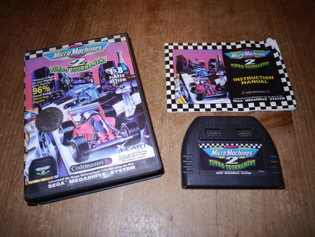 Micro Machines 2: Turbo Tournament (Mega Drive)