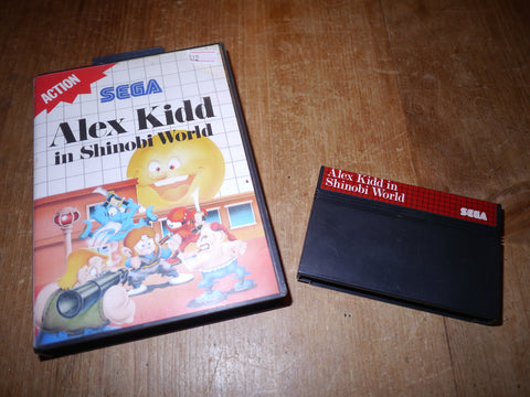 Alex Kidd in Shinobi World (Master System)