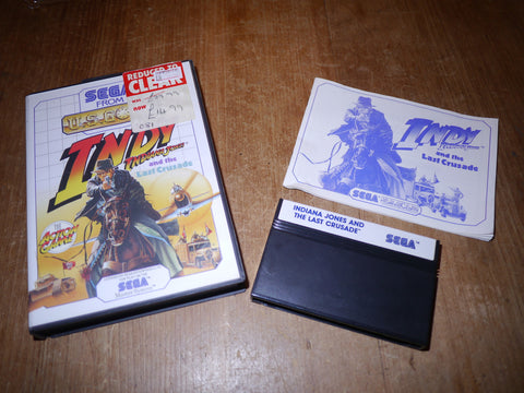 INDY: Indiana Jones and The Last Crusade (Master System)