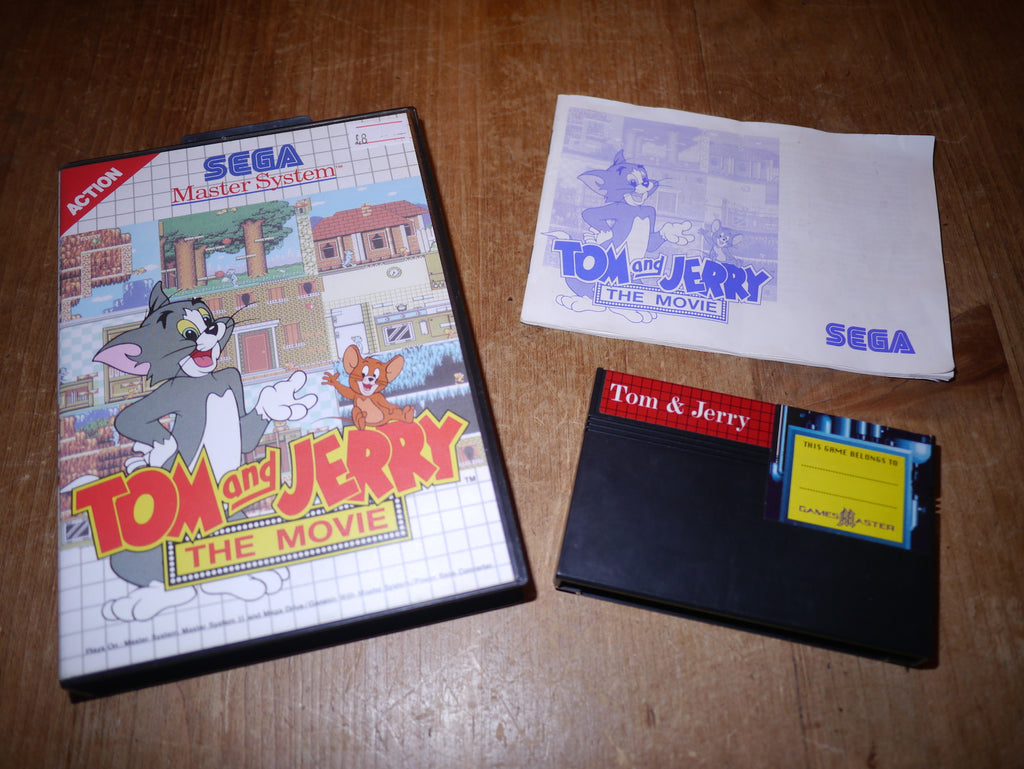 Tom & Jerry: The Movie (Master System)