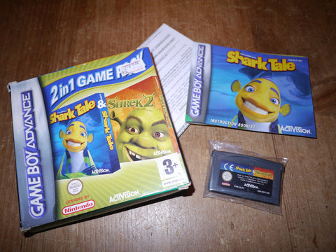 Shark Tale & Shrek 2 (Game Boy Advance)